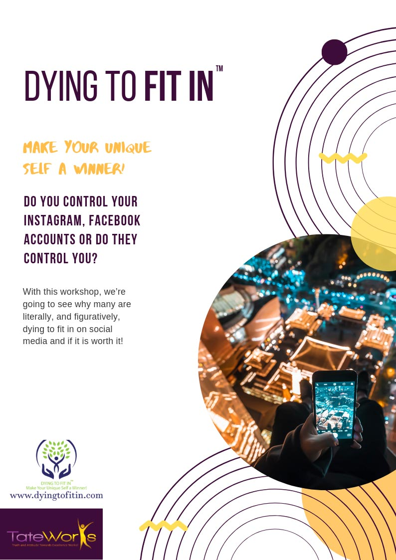 dying to fit in workshop flyer